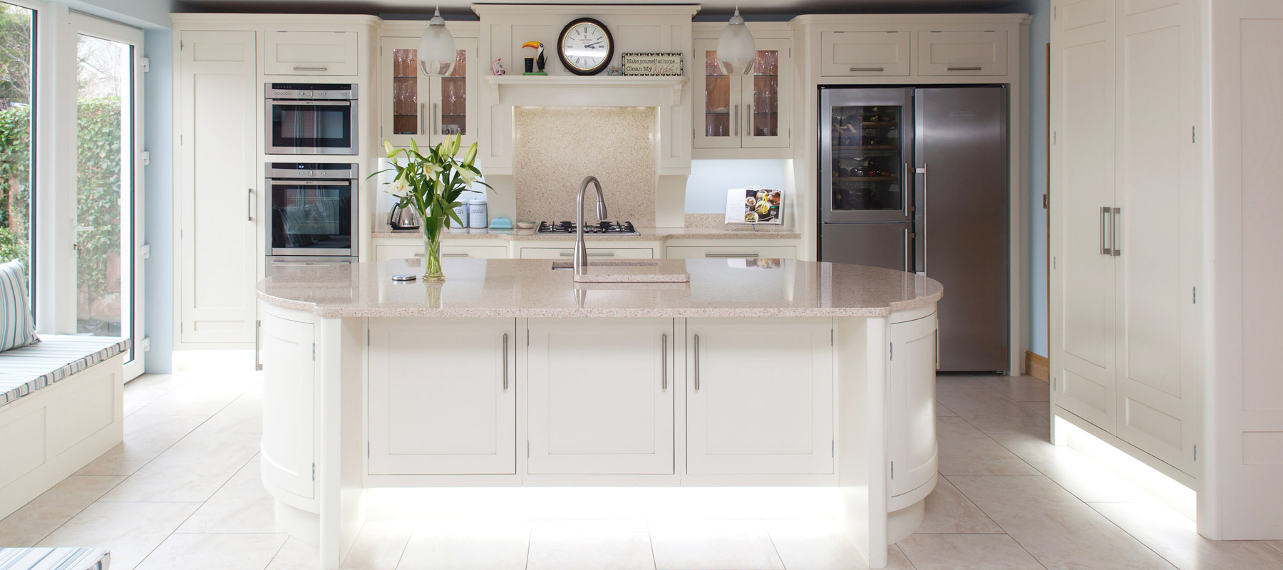 Painted kitchen in Naas, County Kildare