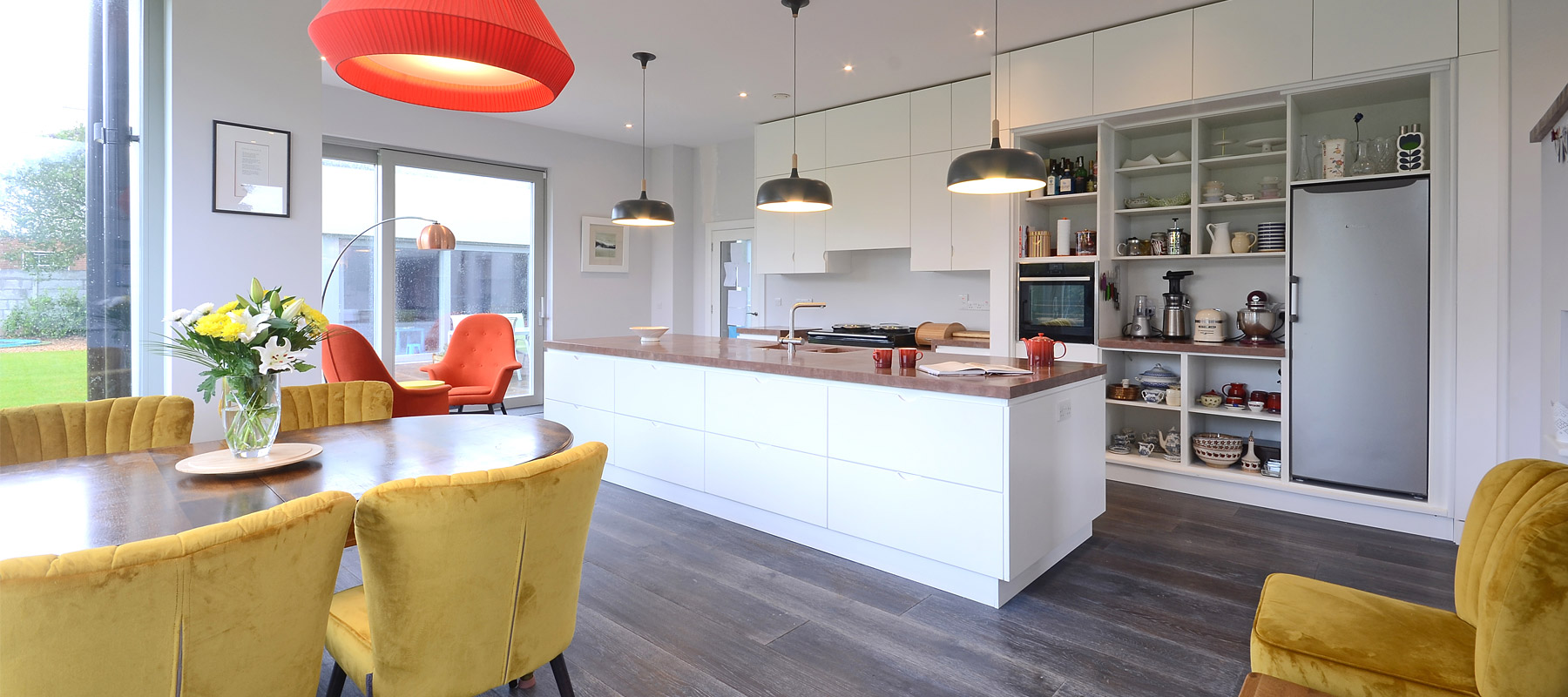 Contemporary kitchen in Galway, County Galway